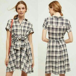 NWT Tylho Tie Waist Shirdress, XS